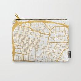 GLASGOW SCOTLAND CITY STREET MAP ART Carry-All Pouch