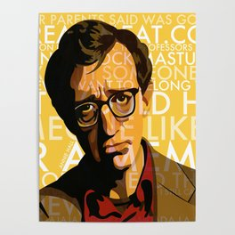 Woody Allen - Annie Hall I Poster