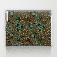 Boho Floral Pattern 17 Laptop & iPad Skin