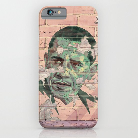 Obama Wall iPhone & iPod Case
