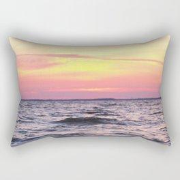 Bay Sunset Rectangular Pillow