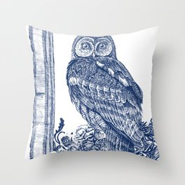 Air of Athena Throw Pillow