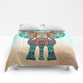 BOHO SUMMER ELEPHANT Comforters