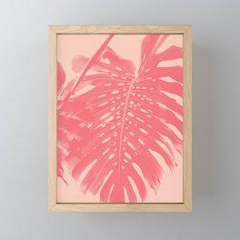 Monstera Finesse #2 #tropical #decor #art #society6 Framed Mini Art Print
