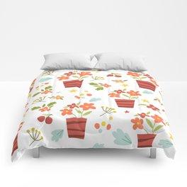 Kids Flower Pots Comforters