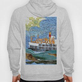 EDMONDS, WASHINGTON the town and the adventures by Seattle Artist Mary Klump Hoody