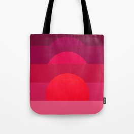 Abstraction_Sunset_001 Tote Bag