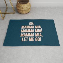 Mamma mia, Mamma mia! Rug