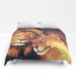 Lions Soulmates Comforters