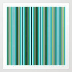 Pin Striped Suit Art Print