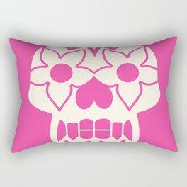 FEEDING GROUND Sugar Skull Rectangular Pillow