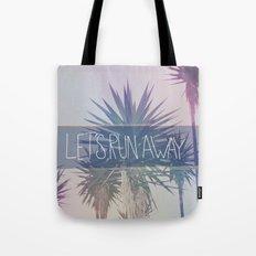 Let's Run Away: Monte Verde, Costa Rica Tote Bag