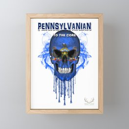 To The Core Collection: Pennsylvania Framed Mini Art Print