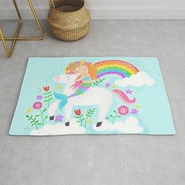 Unicorns, Mermaids & Rainbows...Oh My! Rug