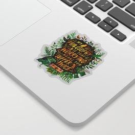 Newt Scamander Sticker