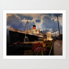 Queen Mary  Art Print