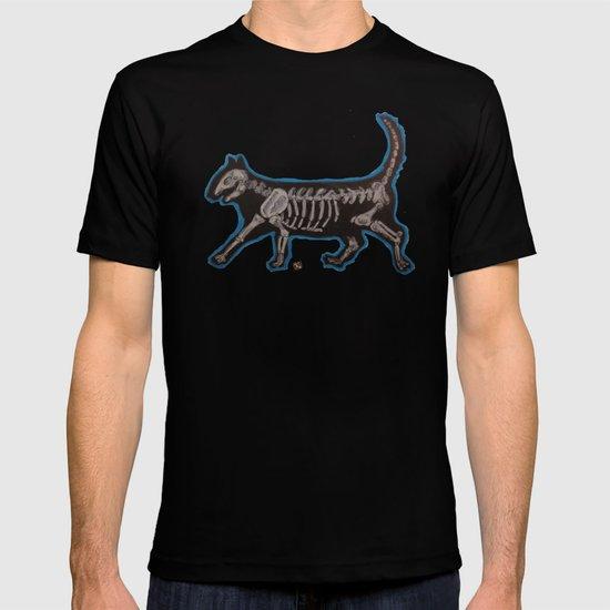 Skeleton Cat T-shirt