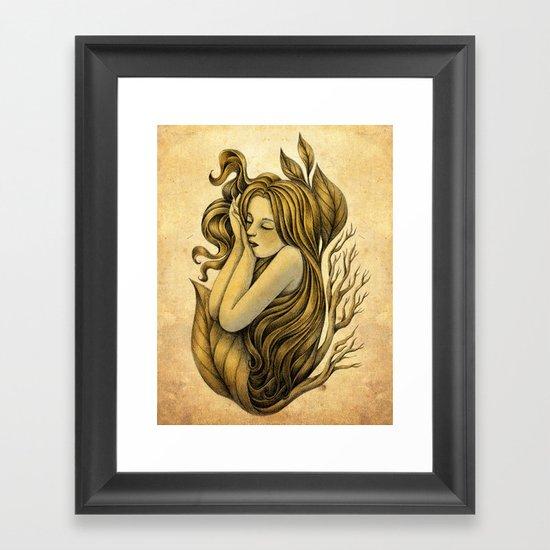 Little Rhizome Framed Art Print