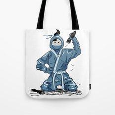 Mr Ninja Tote Bag