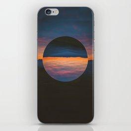 Black Sun iPhone Skin