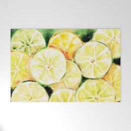 Limes and lemons Welcome Mat