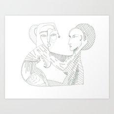 Paper_1 Art Print