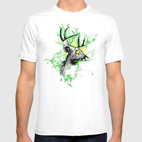 Trippy Ghost Deer T-shirt