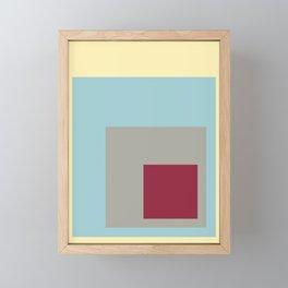 Color Ensemble No. 3 Framed Mini Art Print