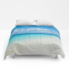 The Maldives' Blue Comforters