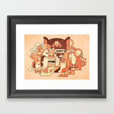 Dry Heat Framed Art Print