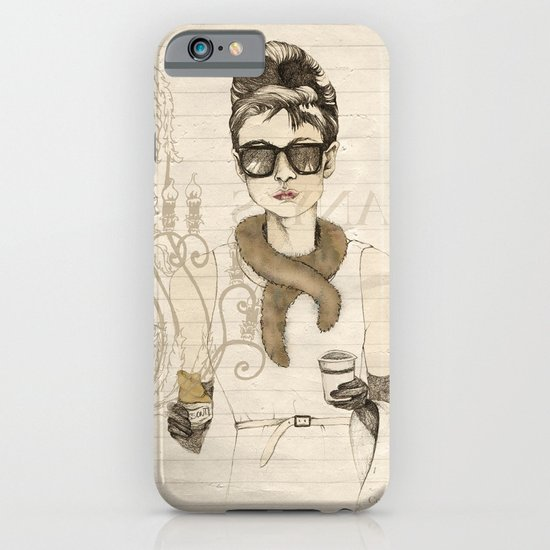 My breakfast at Tiffany's iPhone & iPod Case