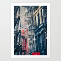 Density - New York City Architecture Art Print