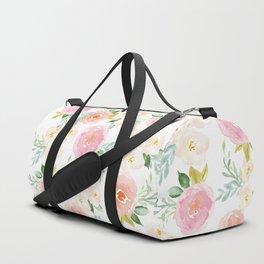 Sweet Pink Blooms (Floral 02) Sporttaschen