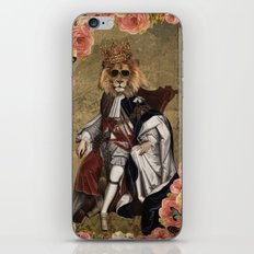 Animal Collection -- The King iPhone & iPod Skin