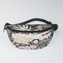 Abstract Exotic Plants Fanny Pack