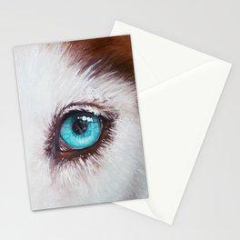 Husky's eye Stationery Cards