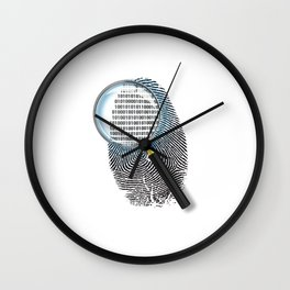 People IP Wall Clock