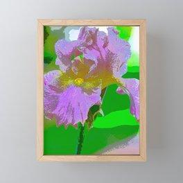 Iris 40 Framed Mini Art Print
