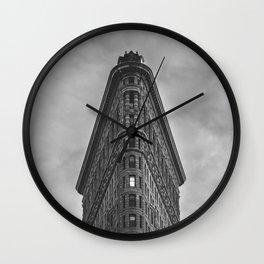 Flat Iron Building - New York Wall Clock