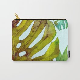 Prepared Monstera Carry-All Pouch