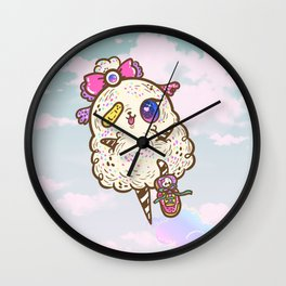 FluffyMafi Wall Clock