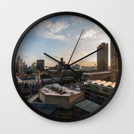 London, Barbican Wall Clock