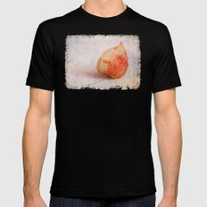 Physalis - JUSTART © MEDIUM Black Mens Fitted Tee