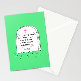 Love Note #3 Stationery Cards