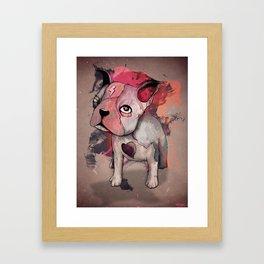 INDELIBLY Framed Art Print