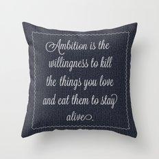 Jack Donaghy's throw pillow from 30 rock Throw Pillow