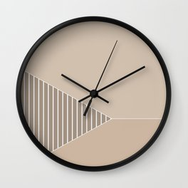 Tri 9 Wall Clock