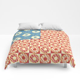 United Donuts of America Comforters