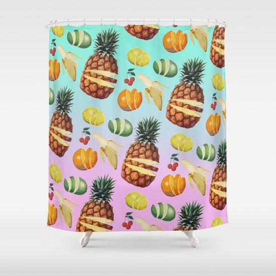 Fruit Ninja Shower Curtain