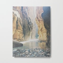 """Zion National Park """"The Narrows"""" Metal Print"""